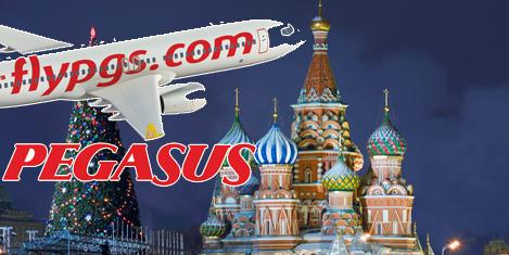 Pegasus, Moskova'da %92 dolu