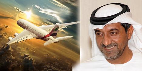 Emirates'te 21,5 milyon yolcu
