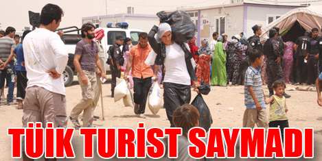 Turizm gelirinde 'Suriye' kaybı .