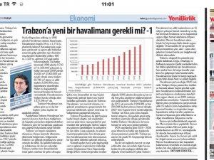 Trabzon'a yeni bir havalimanı gerekli mi? -1
