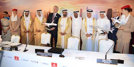 Emirates'ten rekor uçak siparişi