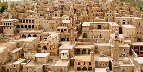 Mardin'de Merdiven'lerde koşu