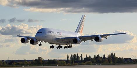 Air France Cancun'a uçtu