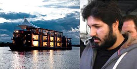 Zarrab'ın yüzer otel projesi