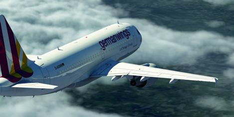 Germanwings'e ait uçakta panik
