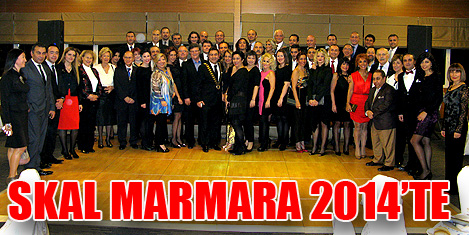 Skal Marmara 2014'ü kutladı