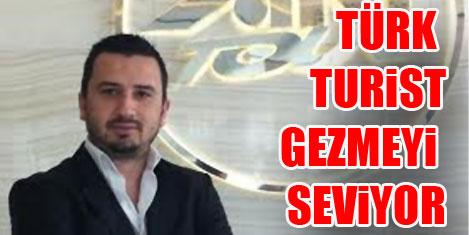 Türk turist gezmeye doymuyor