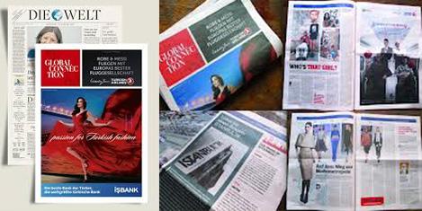 Die Welt, Türkiye'yi tanıttı