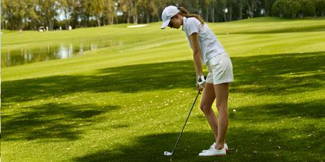 Çocuklara özel golf dersleri