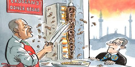 Economist'te Erdoğan'ı kebapçı
