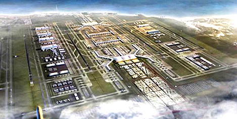 3.Havalimanı inşaatı durduruldu