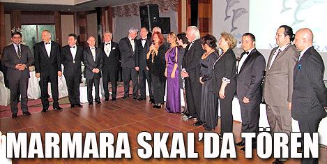 Marmara Skal'da zincir töreni