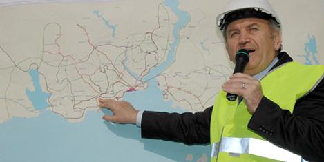 Metro hattı Kabataş'a uzanacak