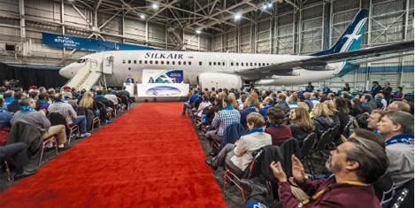 SilkAir Boeing 737 filo kuruyor