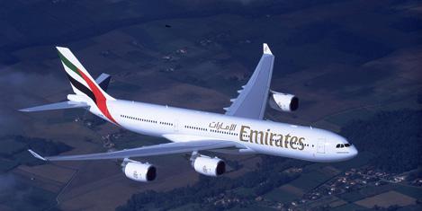 Emirates'ten Nijerya'ya sefer
