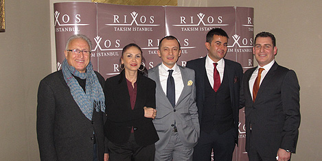 Rixos'ta turizmciler eğlendi