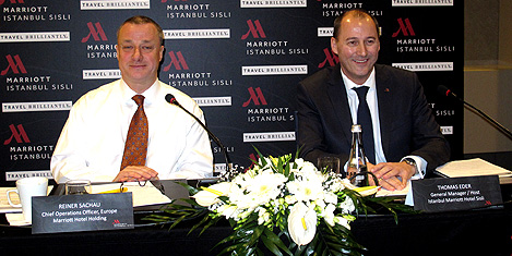 İstanbul Marriott Şişli açıldı