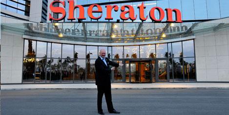 Sheraton Adana kenti parlatıyor