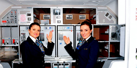 THY'dan uçak mutfağı üretimi