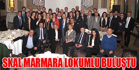 Skal Marmara'da lezzetli toplantı