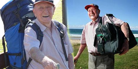 Dünyanın en yaşlı gezgini