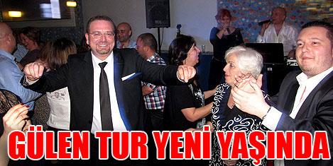 Gülen Tur yeni yaşını kutladı