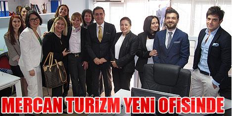 Mercan Turizm yeni ofisinde