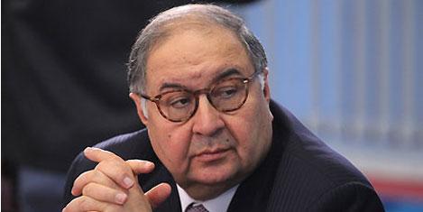 Usmanov Rusya'nın en zengini