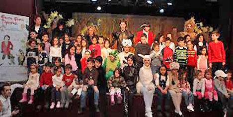 23 Nisan'da çocuklara sanat