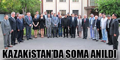 Almata'da Soma anıldı