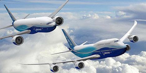 Boeing'in 2014 karı 90,8 milyar