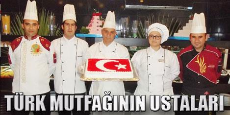 Türk gecesinde lezzet şöleni