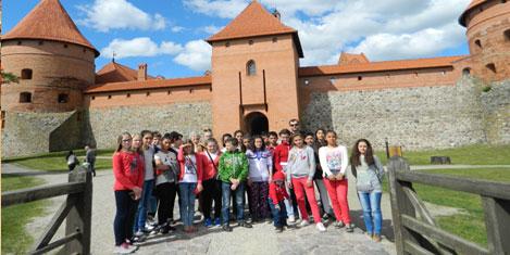 Köy çocukları Avrupa yolunda