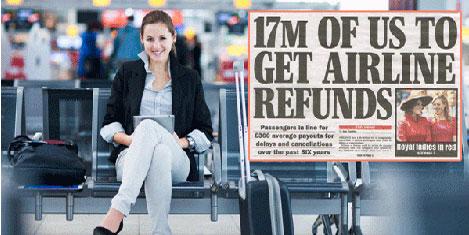 Uçak gecikince yolcuya ödeme