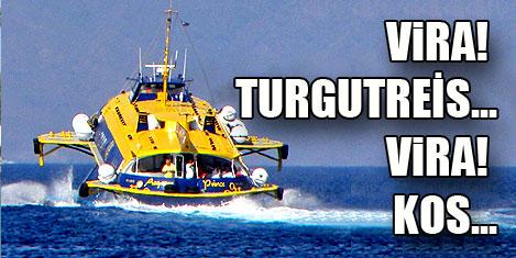 Turgutreis-Kos 15 dakika