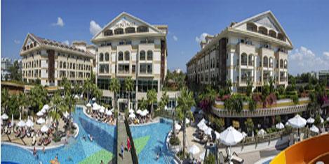 Cystal otellerin 8'i yeşil yıldızlı