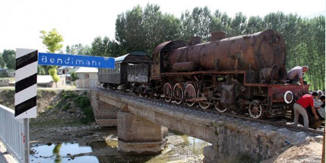 Tarihi tren, Balık Bendi'nde