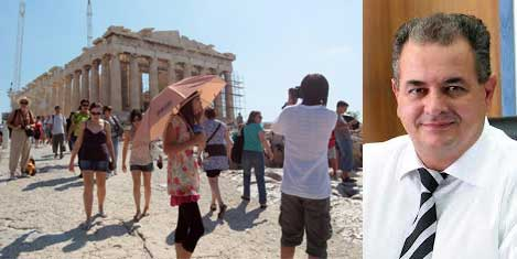 Yunanistan'da Alman turist arttı