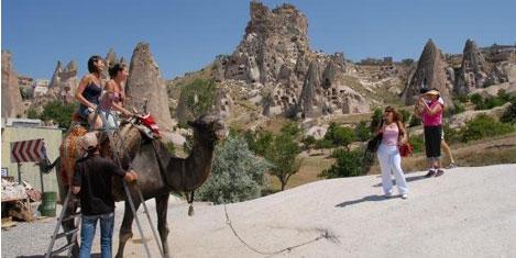 Kapadokya'da 1.5 milyon turist