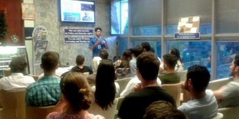 Dünya kültürleri Speaking Cafede