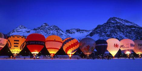 KKTC'de sıcak Hava Balonu şenliği