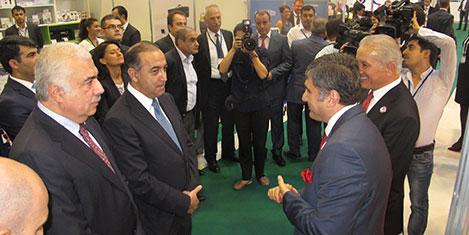 Bakü BİHE'de Türkiye'ye büyük ilgi