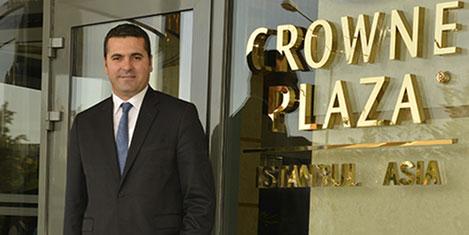 Crowne Plaza Asia'ya yeni müdür