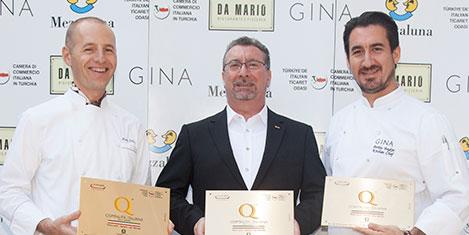 Türkiye'nin ödüllü İtalyanları