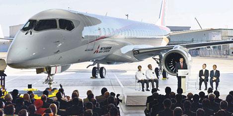 Japonlar yerli uçak ile pazarda
