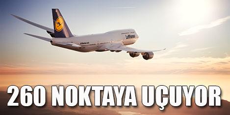 Lufthansa Grubu 260 noktada