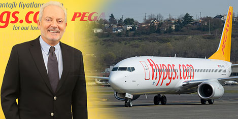 Pegasus'ta  9 ayda 15 milyon yolcu