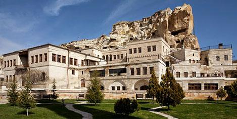 Kapadokya'nın çevreci oteli
