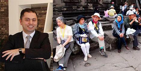 Yaşlı Japon'a şifa Türkiye'den