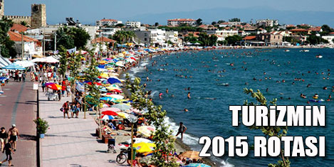 Türk turizminin 2015 rotası